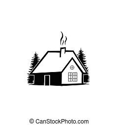 real estate logo inspiration with nature