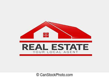 Real Estate Logo. Vector Design
