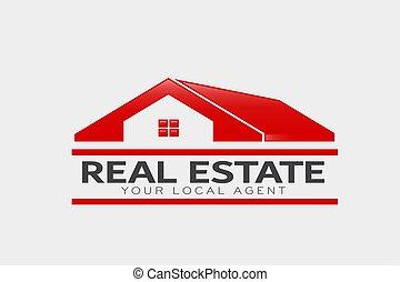 Real Estate Logo. Vector Design