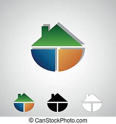 real estate, logos