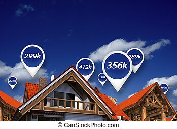 Real Estate Market Prices - Real Estate Market Blue Price...