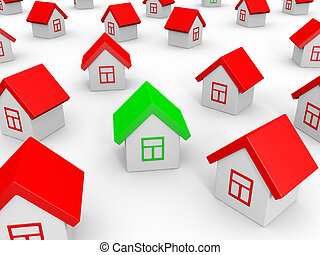 Real estate market.