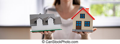 Real Estate Mortgage. New House Loan