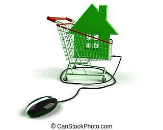 real estate, online