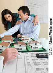 real-estate promoter and couple