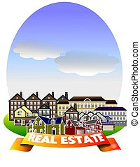 REAL ESTATE - Real estate illustration