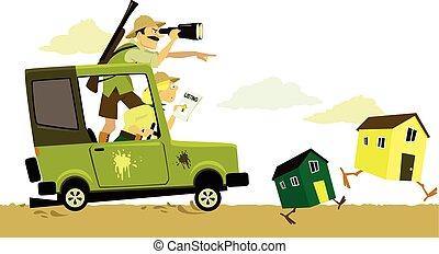 Real estate safari