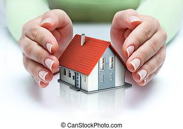 real estate, schützen, versicherung
