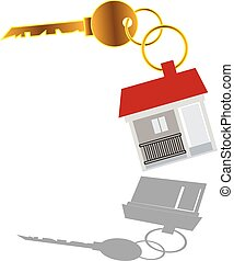 Real estate sell key