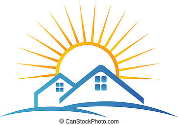 Real estate team logo