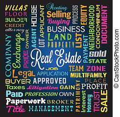 Real Estate Theme Background - Real Estate Theme