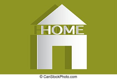 Real estate vector house logo