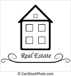 Real Estate Vector icon