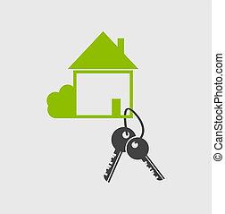 Real estate vector logo designsymbol.