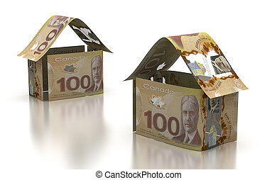 Real Estate With Canadian Dollar