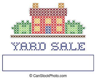 Real Estate YARD SALE Sign