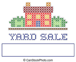 Real Estate YARD SALE Sign