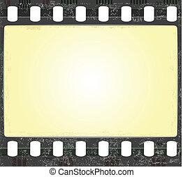 real fiml frame - vector