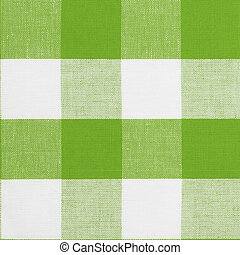 Real green seamless pattern of gingham traditional...
