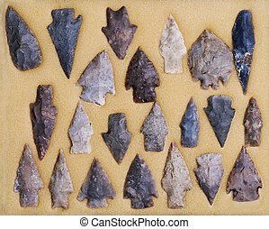 Real Indian Arrowheads. - Real American Indian arrowheads...