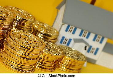 real, investimento, propriedade