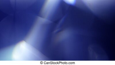 Real Lens Flare Shot in Studio over Black