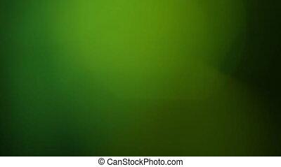 Real Lens Flare Shot in Studio over Black