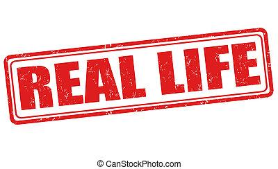 Real life stamp