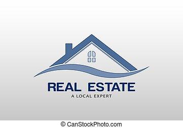 real, logotipo, vetorial, propriedade, modelo