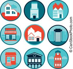 real, logotipos, jogo, propriedade, emblemas, vetorial