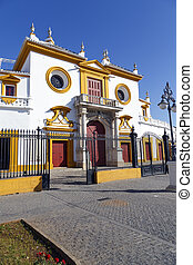 Real Maestranza de Caballeria de Sevilla, in Seville, Spain...