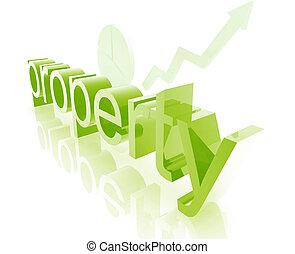 real, melhorar, propriedade, propriedade
