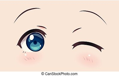 Real smiling anime eyes (manga) girls