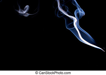 real smoke abstract - Real smoke abstract design the wisps...