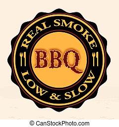 real smoke bbq