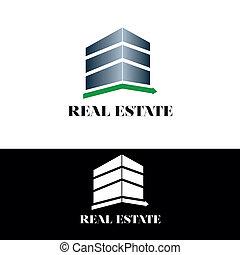 reale, costruzione, proprietà, logotipo