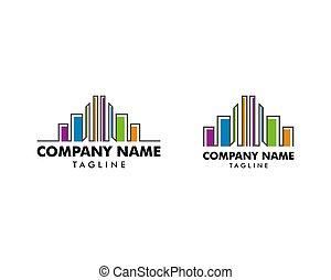 reale, costruzioni, set, colorito, proprietà, sagoma, logotipo