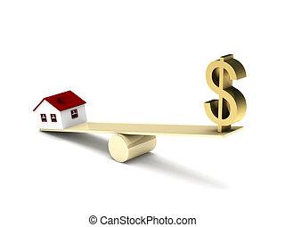 reale, finanza, proprietà