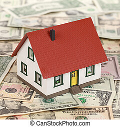 reale, finanziamento, proprietà, (dollars)