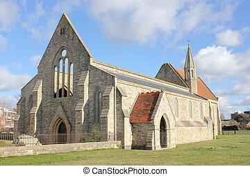 reale, guarnigione, chiesa, (domus, dei)