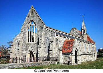 reale, guarnigione, chiesa, portsmouth