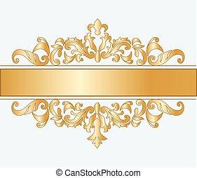 reale, imperiale, ornamento, classico