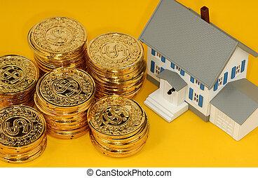 reale, investimento, proprietà