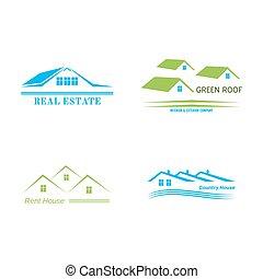 reale, logotipo, disegno, proprietà