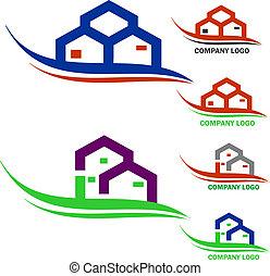 reale, logotipo, ditta, proprietà