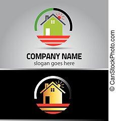 reale, logotipo, proprietà