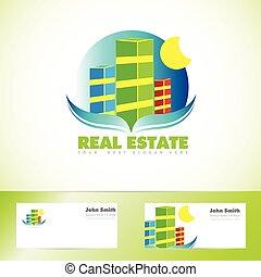 reale, logotipo, proprietà, icona