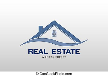 reale, logotipo, vettore, proprietà, sagoma