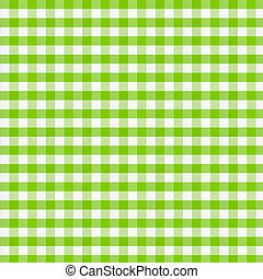 reale, verde, checkered, tessuto, tablecloth., alto, resolution.