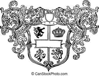 realeza, escudo